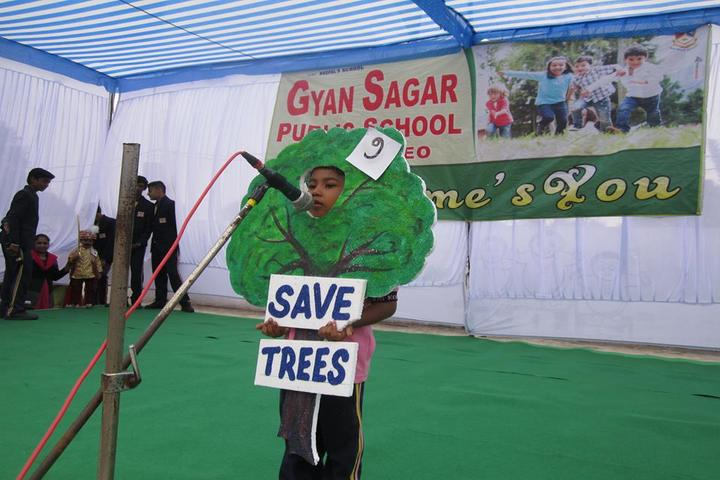 Gyan Sagar Public School-Environment Day