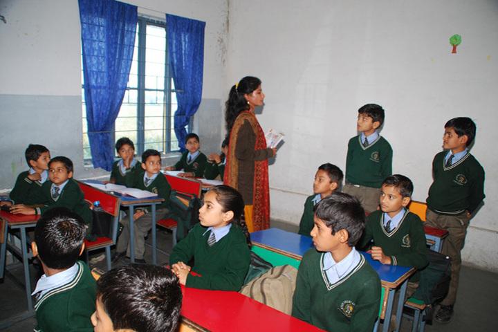 Gyan Valley Co Educational School-Classroom