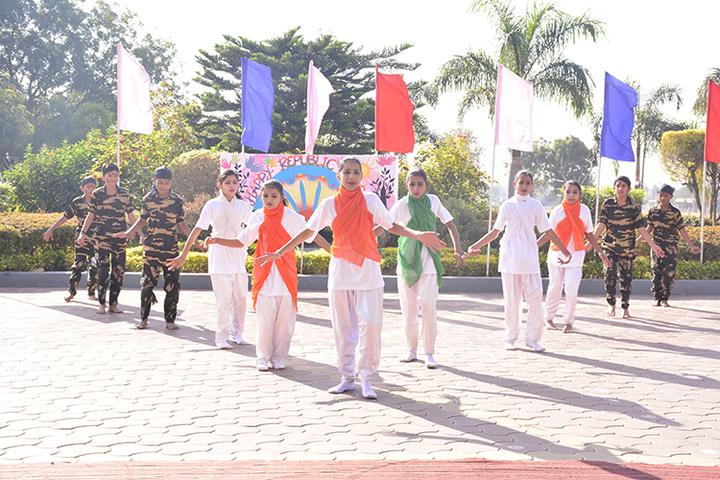 Gyan Valley Co Educational School-Republic Day Celebrations
