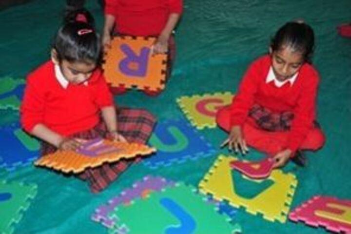 Gyan Vihar Public School-Primary Art and Crafts