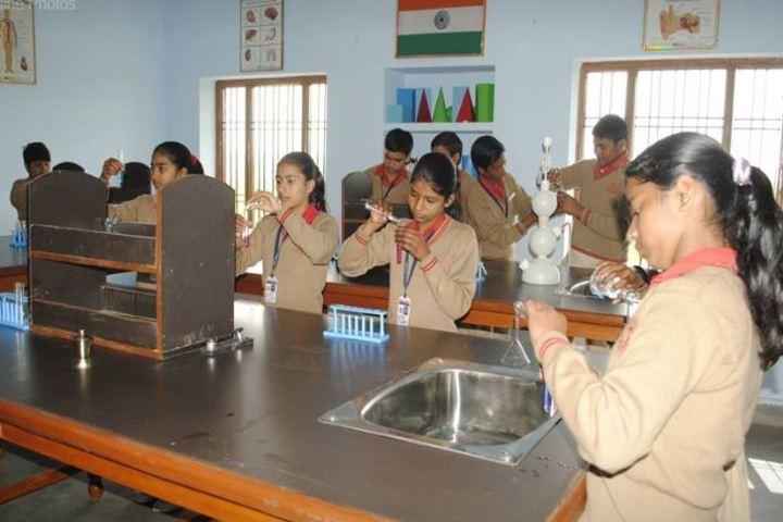 Akshar Vidya Griha-Chemistry Lab