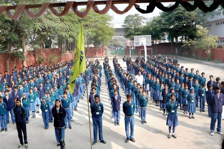 Gyanasthali Vidyalaya-Assembly