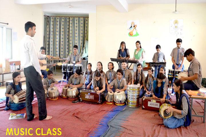 Gyanasthali Vidyalaya-Music classroom