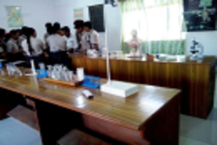 Happy Hours English Medium School-Science Lab