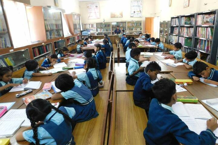 Hema Higher Secondary School-Library
