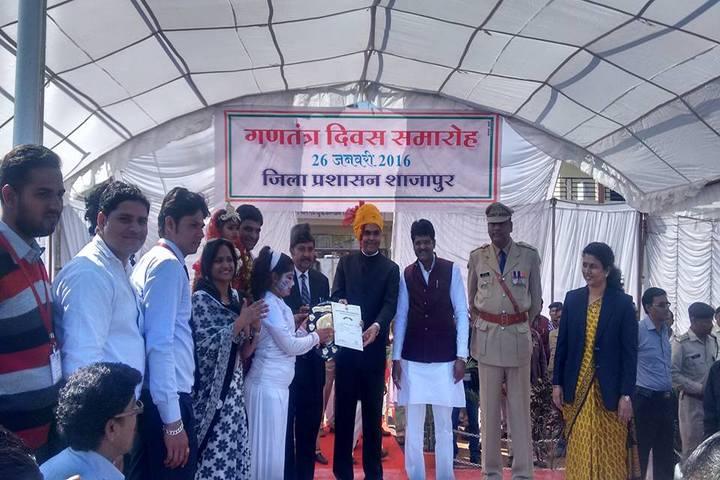 Hind Junior College-Award Receiving