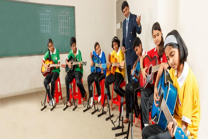 Hind Junior College-Music Room