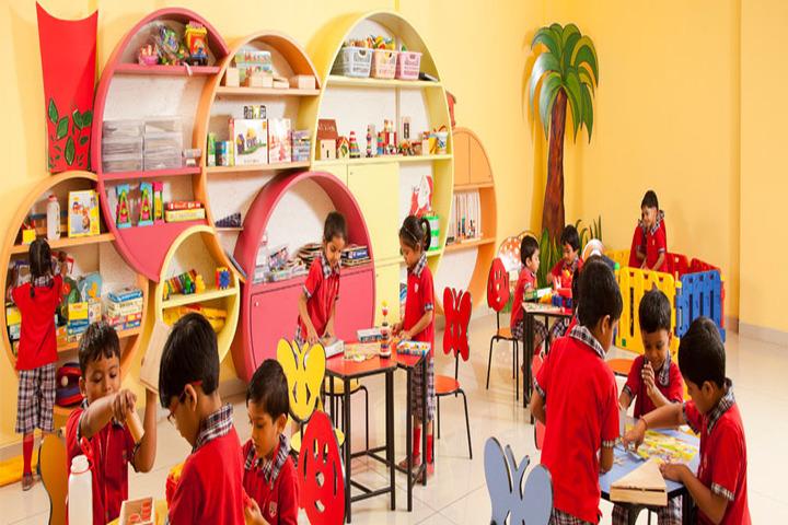 Hind Junior College-Pre Primary Area