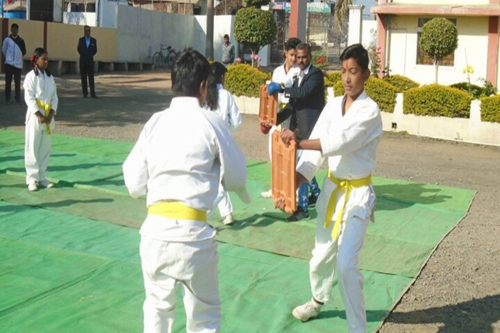 Holy Cross Co Ed School-Karate Activity
