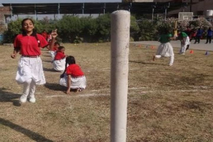 Holy Cross School-Outdoor Games