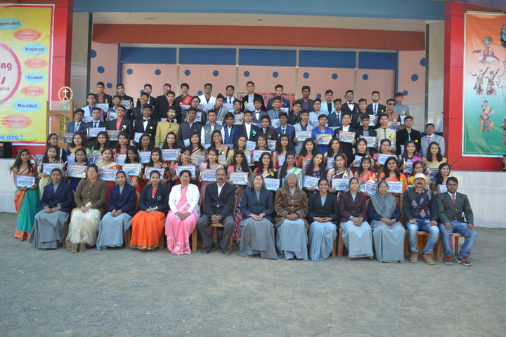 Holy Family Convent Higher Secondary School-Farewell