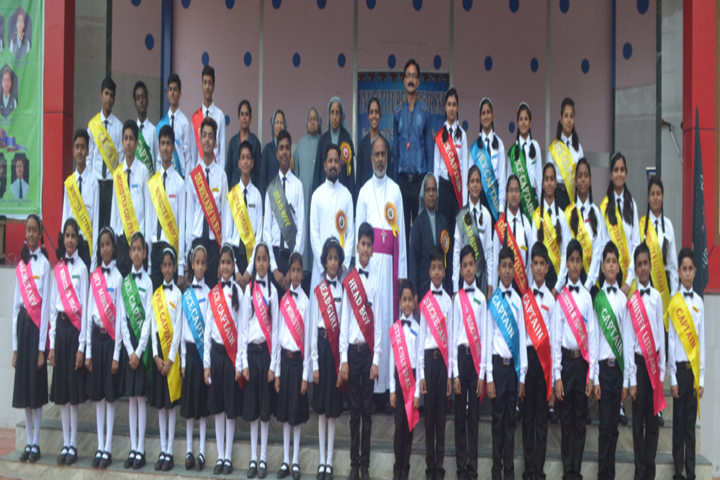 Holy Family Convent Higher Secondary School-Investiture Ceremony