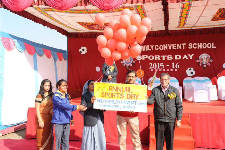 Holy Family Convent School-Annual Sports Day