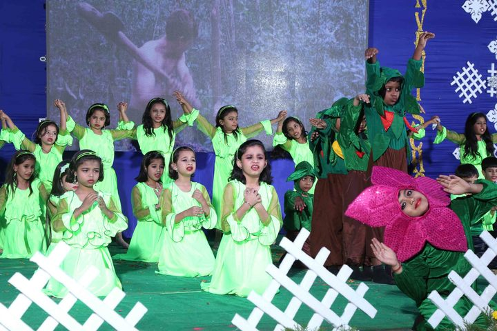 Holy Family Convent School-Dance Activity