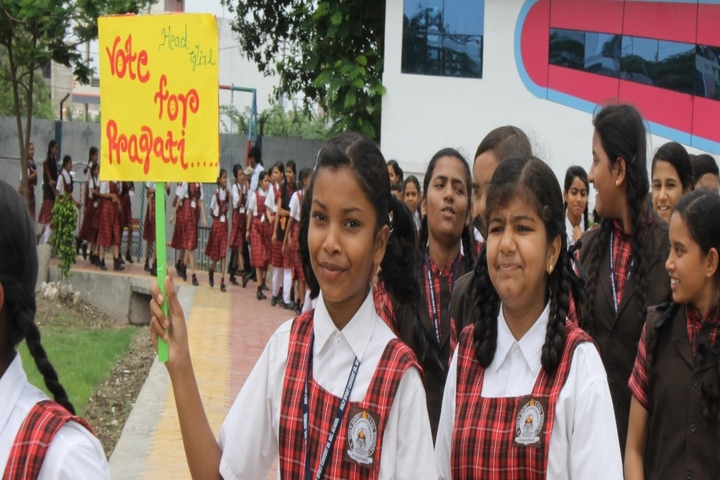 Holy Spirit Convent School-Election Campaign