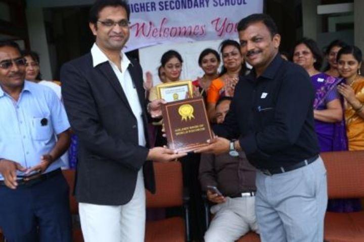 Ilva Higher Secondary School-Award Receiving
