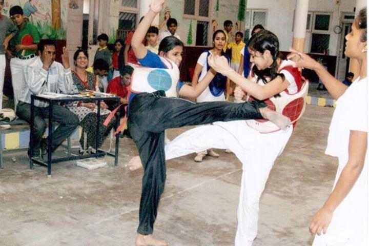 Ilva Higher Secondary School-Karate Activity