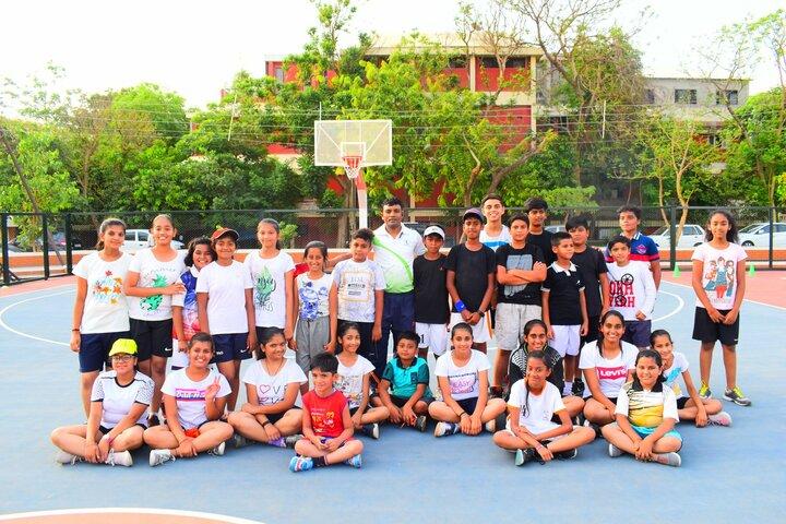 Indore Public School-Basket Ball Court