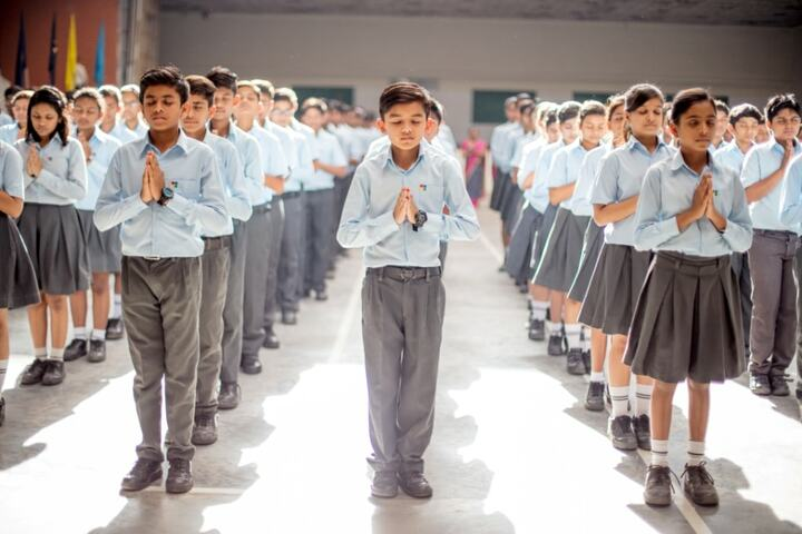 Indore Public School-Morning Assembly