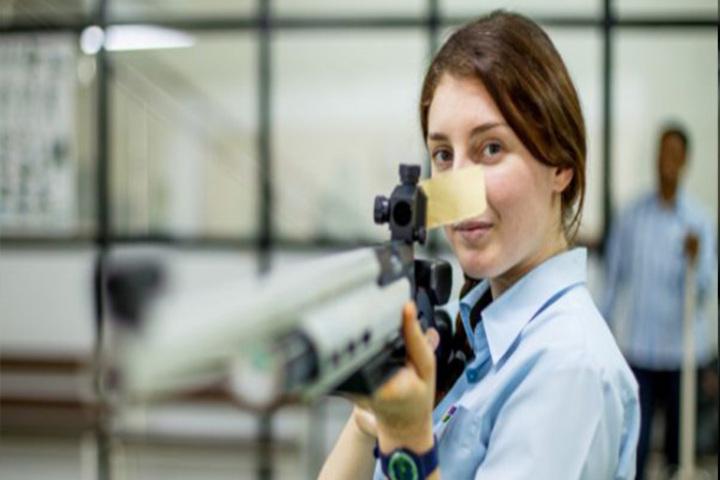 Indore Public School-Rifle Shooting