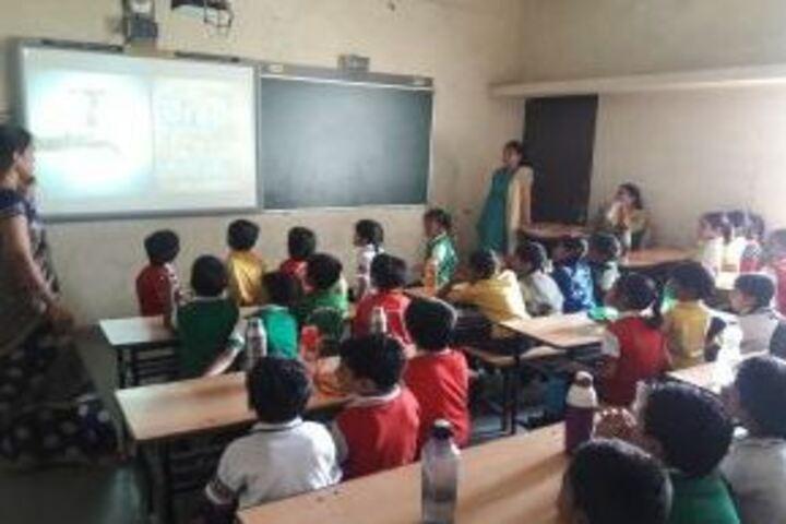 Innocent Children Academy-Smart Classroom