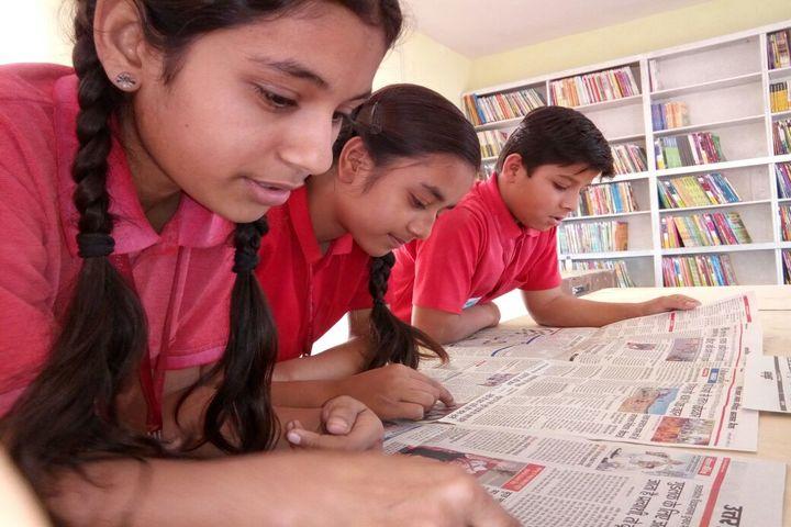 Innovative World School-News Paper Reading Activity