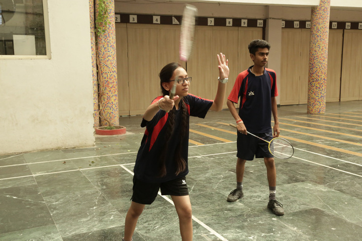 International Public School-Badminton