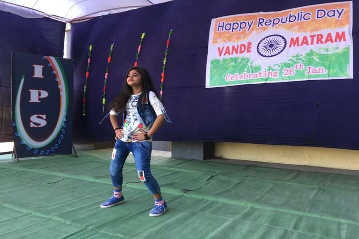 International Public School-Dancing Activity