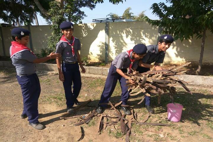 International Public School-NCC Camp