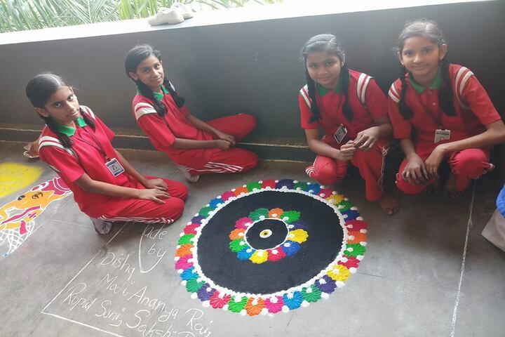 International Public School-Rangoli Competition