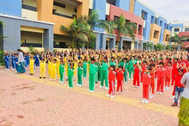 International Public School-Yoga Day