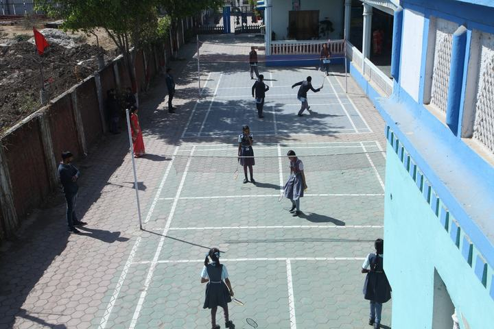 Ishwar Prem Vidya Mandir-Badminton Court