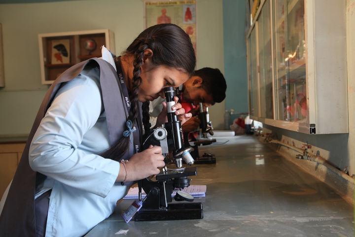 Ishwar Prem Vidya Mandir-Biology Lab