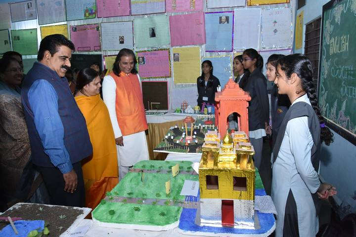 Ishwar Prem Vidya Mandir-Science Exhibition