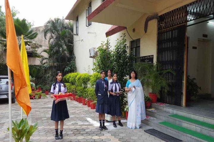 ITMA Vidya Niketan-Greeting Ceremony