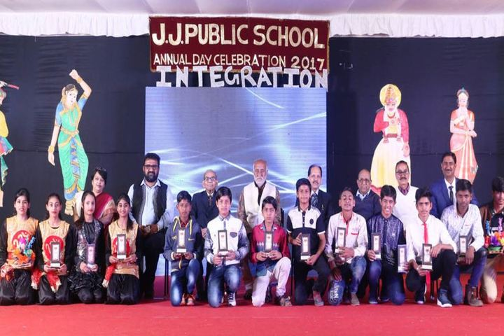 J J Public School-Prize Distribution