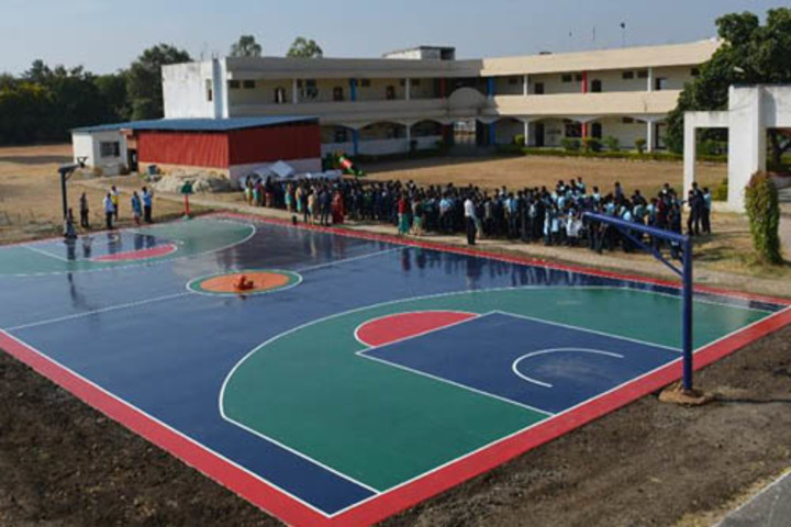 J J Public School-Basket Ball Court