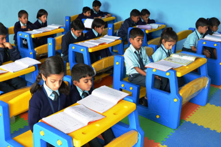J J Public School-Classrooms