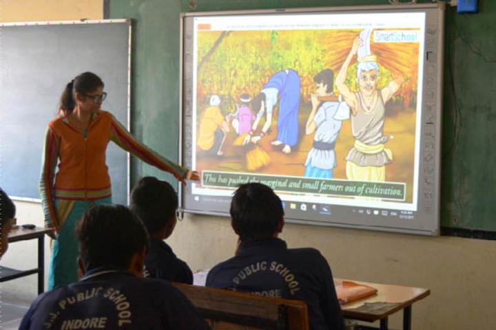 J J Public School-Smart Classrooms