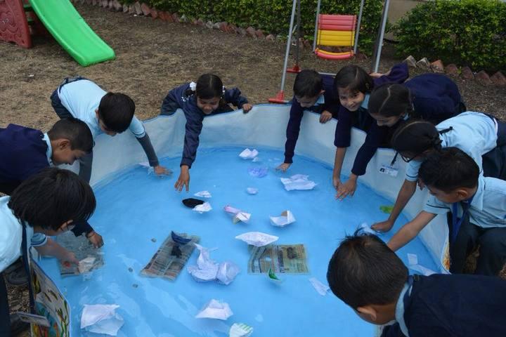 J J Public School-Water Activity