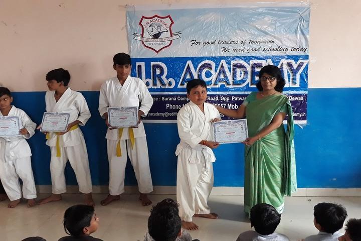 J R Academy-Prize Distribution