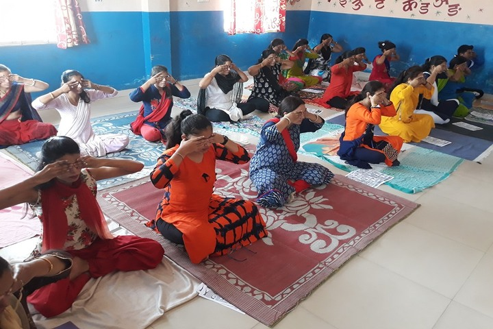 J R Academy-Yoga Day