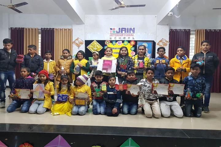 Jain International School-Prize Distribution