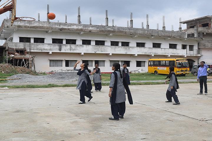 Ambika Public School-Basket Ball Court