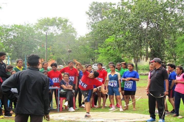Jawahar Navodaya Vidyalaya-Throw Ball Competition