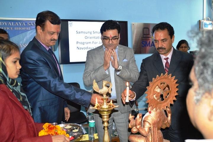 Jawahar Navodaya Vidyalaya-Institution Ceremony