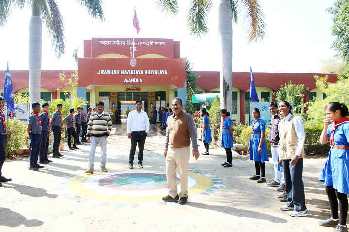 Jawahar Navodaya Vidyalaya-Institution Ceremony Function