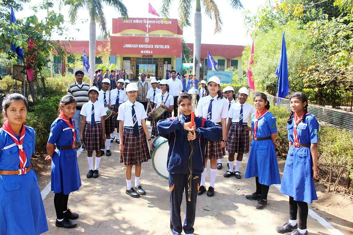 Jawahar Navodaya Vidyalaya-Sports Day Celebration