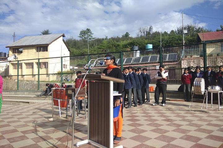 Jawahar Navodaya Vidyalaya-Morning Assembly