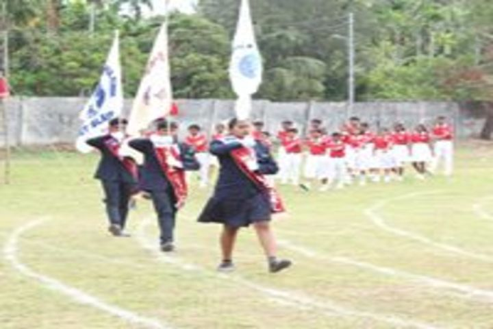 Mahatma Gandhi International School-March Past